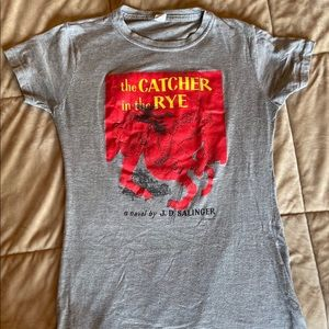 The Catcher In The Rye Graphic T Shirt